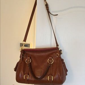 Dooney & Bourke Florentine Small Satchel (Natural)